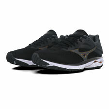 Mizuno Mens Wave Rider 23 Running Shoes Trainers Sneakers - Black Sports