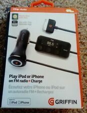 Griffin iTrip Auto Charger/FM Transmitter 4 iPod touch 2/3/4 iPhone 3g/3gs/4/4s