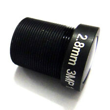 "HD 1/2.5"" 2.8mm wide angle CCTV IR 3MP Lens M12 for HD camera (IR-CUT Filter)"