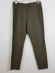 [ SPORTSCRAFT ] Womens Dark Khaki Stretch Pants  | Size AU 12 or US 8