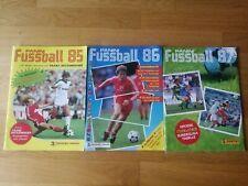 Panini Fußball Bundesliga 85 86 87 Alben Leeralben Deutschland
