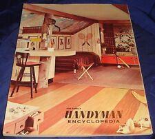 FM027 Vtg The Family Handyman Encyclopaedia Book 1963