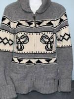 ARITZIA TNA Sea To Sky Lambs Wool Cardigan Zip Up Sweater XS