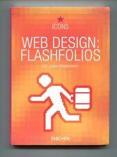 Ed.Julius Wiedemann WEB DESIGN: FLASHFOLIOS Taschen 2005 Libro Book