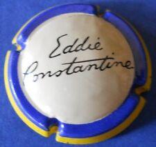 Ancienne capsule de Champagne Eddie Constantine cote 90eur