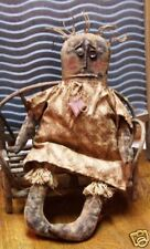EXTREME PRIMITIVE DOLL PATTERN!! MAILED!! PERFECTLY PRIM EVERYDAY DOLL PATTERN