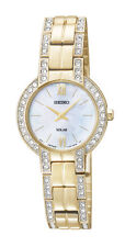 Seiko SUP200 SUP200P9 Ladies Solar Watch gold RRP $495.00