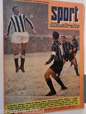 SPORT ILLUSTRATO N 6 5 febbraio 1959 Angelillo e Firmani Tozzi Genoa Talmone e