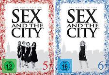 7 DVDs * SEX AND THE CITY : STAFFEL / SEASON 5 + 6 # NEU OVP +