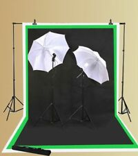 3 Muslins Background Support Studio Video Lighting Kit
