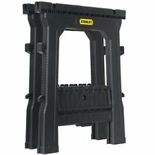Stanley Tools 060864R Folding Sawhorse 2-Pack Home Construction New Fast Shippin