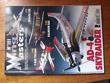 $$1 Revue Wing Masters N°101 AD-4 Skyraider  T-28B Trojan  Mirage IIIB  Salmson
