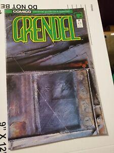 Grendel #21 Matt Wagner Comico Comics
