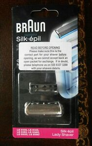 Braun Silk Epil Cutter Block and Foil for Lady Shaver
