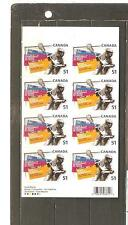 pk22132:Stamps-Canada #BK331 Lacrosse 8 x 51 cent Booklet -MNH