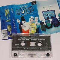 AQUA AQUARIUM 1997 CASSETTE TAPE ALBUM BARBIE GIRL DOCTOR JONES