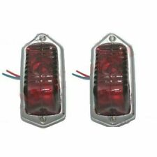 Pair Lucas Type L471 Rear TailLight Assey With Bulb Morris Minor 1949-5 ECs