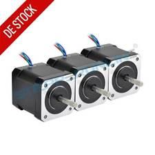 3PCS Schrittmotor Nema 17 Stepper Motor 59Ncm 2A 48mm 4 Drähte 17HS19-2004S1