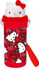 Hello Kitty New Sanrio Pop-Up Straw Bottle: Apple KT (Brand new)