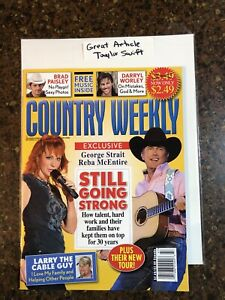 Country Music Weekly Nov 23, 2009 Reba  McENTIRE Cover Taylor Swift No Label NEW