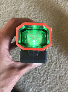 NERF Nitron Vortex Tactical Scope Sight Attachment Green Light up  Working