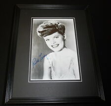 Ruth Terry Signed Framed 11x14 Photo Display