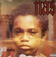 Nas - ILLMATIC (New Vinyl LP Sealed!) Get On Down