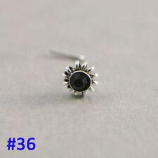 Piercing-Stecker mit Diamant