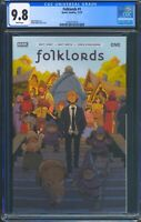 Folklords 1 (Boom) CGC 9.8 White Pages Matt Kindt story Matt Smith art