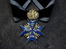 WWI GERMAN BLUE MAX MEDAL RIBBON OAK LEAF-385