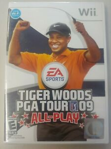 Tiger Woods PGA Tour 09: All-Play (Nintendo Wii, 2008) EA Sports Tiger Woods NEW