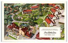 Mid-1900s Paso Robles Inn, Paso Robles, CA Postcard