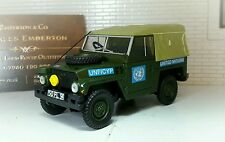 1:43 Scale Model Land Rover Series 2a 3 Lightweight LWT UN British Army Oxford