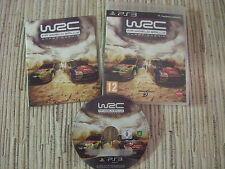 PLAYSTATION 3 PS3 WRC FIA WORLD CHAMPIONSHIP PAL ESPAÑA USADO BUEN ESTADO