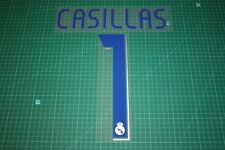 Real Madrid 06/07 #1 CASILLAS Homekit Nameset Printing