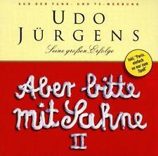 """UDO JÜRGENS """"ABER BITTE MIT SAHNE"""" 2 CD NEW+"""