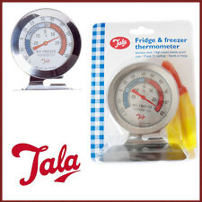 TALA Fridge Freezer Thermometer SS Accurate Reading High Impact Shatter Proof