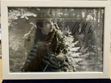 More details for framed signed picture got game of thrones bran stark isaac hempstead wright