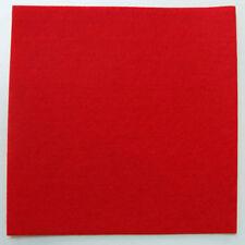 Feutrine ROUGE plaque 29x29cm épaisse 3mm Feutre tissu DIY loisirs créatifs