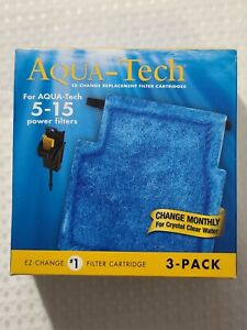 AquaTech EZ-Change #1 Filter Cartridge for 5-15 Filters (3-Count) - NEW/SEALED