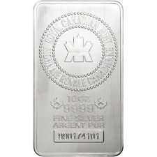 10 oz. RCM Silver Bar - Royal Canadian Mint .9999 Fine