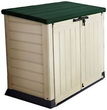 Keter Store It Out Max Beige/Green Storage Shed - 1200L