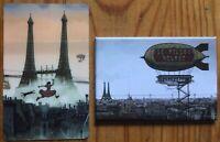 Tardi: 1 carte plastique + 1 magnet - Avril et le monde truqué - non signés