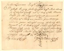 Court Costs signed by George Pitkin