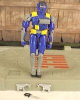 GI JOE vs Cobra valor vs venom blue Alley Viper 2 v8 Urban Assault Trooper 2004