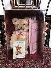 Vintage Steiff Bear Jackie Margaret Woodbury Strong Museum Original Box 0190-25