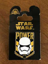 Disney Star Wars The Force Awakens - Storm Trooper - Power First Order Pin ~ NEW
