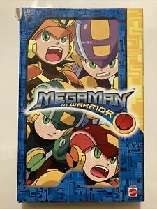 Megaman NT Warrior Battle Chip Game Collector Case 2005 Includes 15 Chips, Rare!