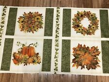Fall Bouquets Shade of the Season Cotton Kitchen Placemat Fabric Panel sewing