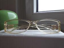 Brillenfassung von Dior, Kunststoff gelb transparent